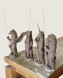 Clay Maquettes
