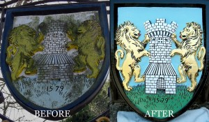 Village Sign Restoration