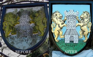 Village Sign Restoration