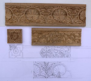 Hand Carved master mould for casting
