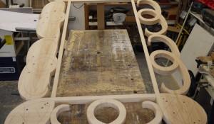 Hand Made Bespoke Pine Mirror Frame