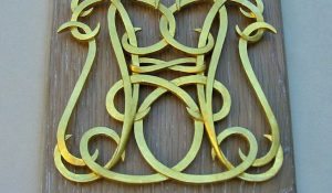 Hand Carved and Gilded Cypher