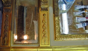 Water Gilded Mirror Frame
