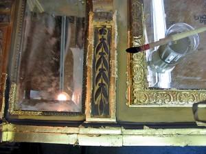 Restoration of Mirror Frame