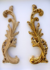Rococo Carved & Gilded Scrolls