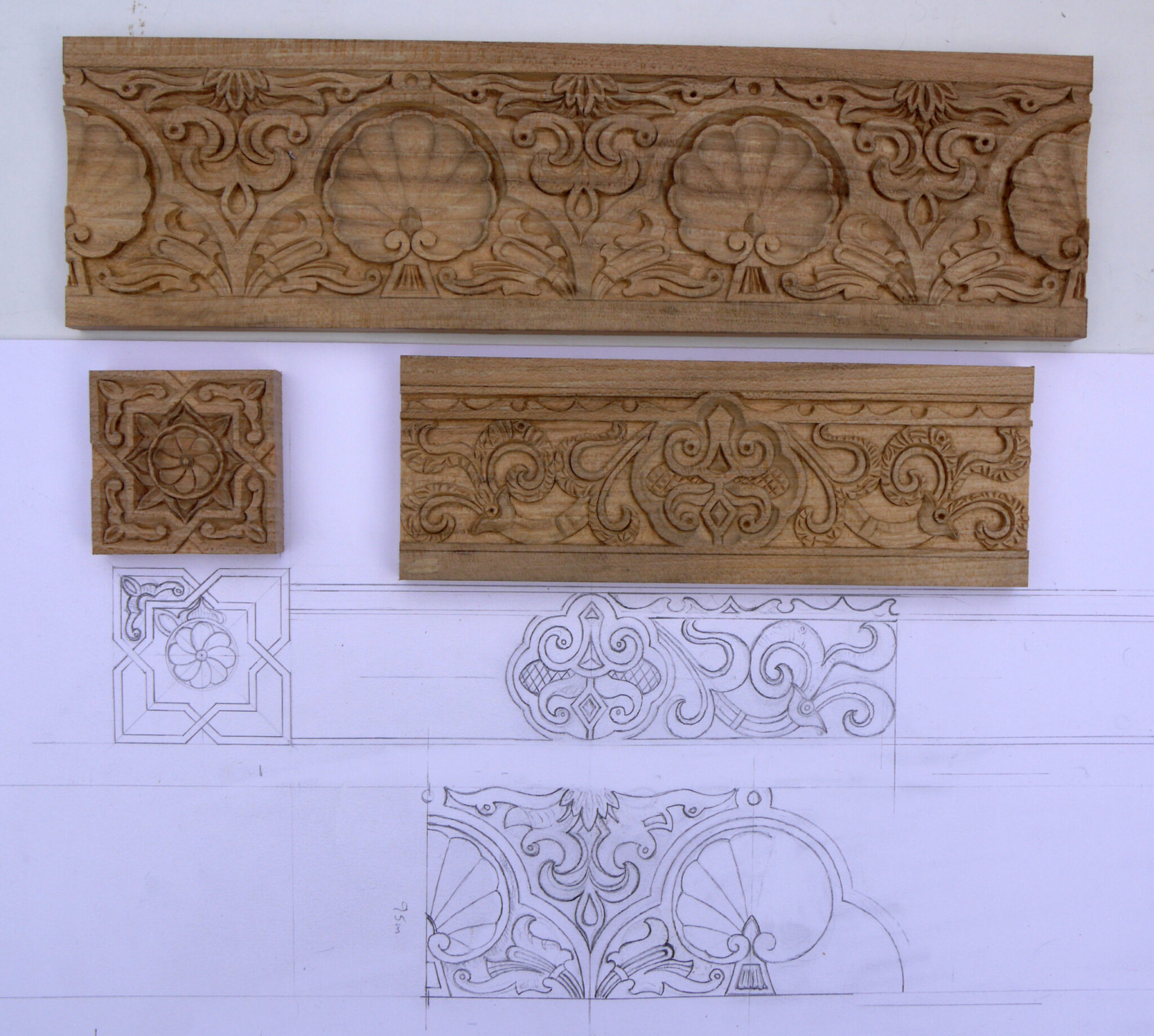 Carved Moulding and Design Work | Wood Carvers and Gilders