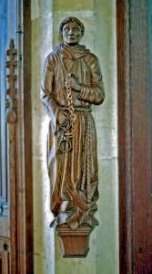 Statue of St Leonard