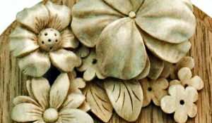 Ornamental Hand Carved Foliage