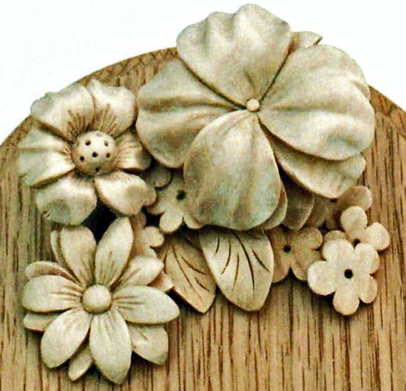 Ornamental Hand Carved Foliage