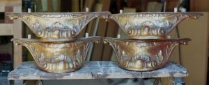 Carved and Gilded French Bed Feet
