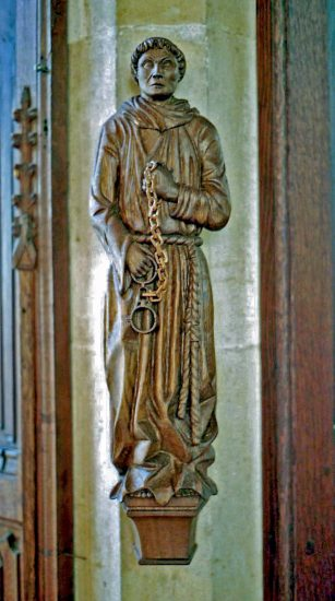 St Leonard Statue