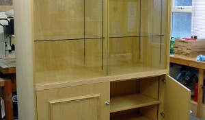 Display Cabinet in Ash