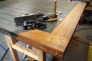 Restoration of Solid Oak Gates